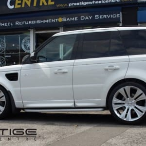 Vogue alloy wheels for Range Rover