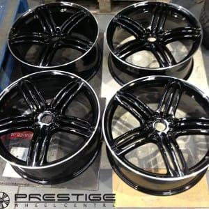 Audi Q7 customised wheels
