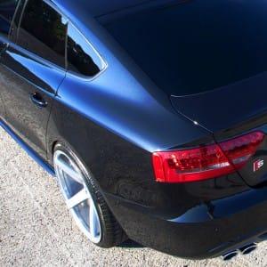 """Vossen 20"""" CV3 wheels in silver machined on Audi A5 Sportback"""