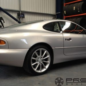 Aston Martin DB7 alloy wheel renovation