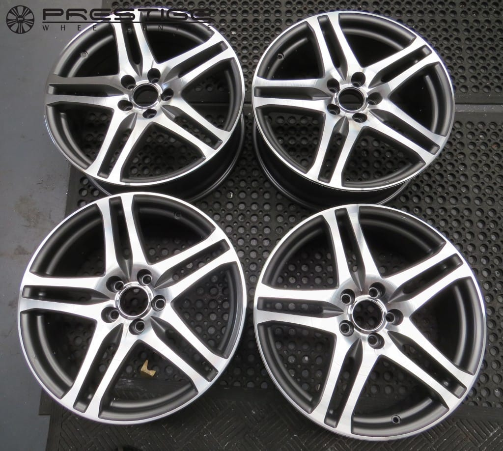 Perfection Honda Service >> Alloy wheel refurbishment Honda Civic Type R 19″ Rage diamond cut wheels | Prestige Wheel Centre ...