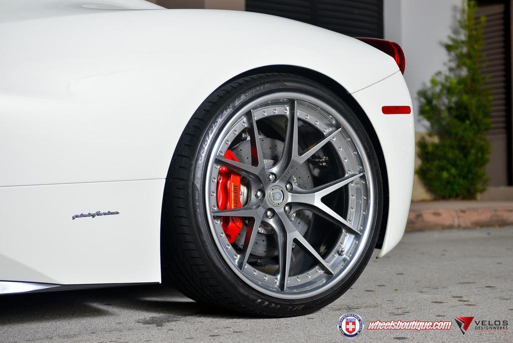 Ferrari 458 Italia With Hre S101 Forged Wheels Prestige Wheel Centre News