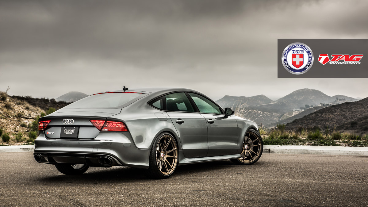 audi rs7 on 21 u2033 hre p44sc forged wheels