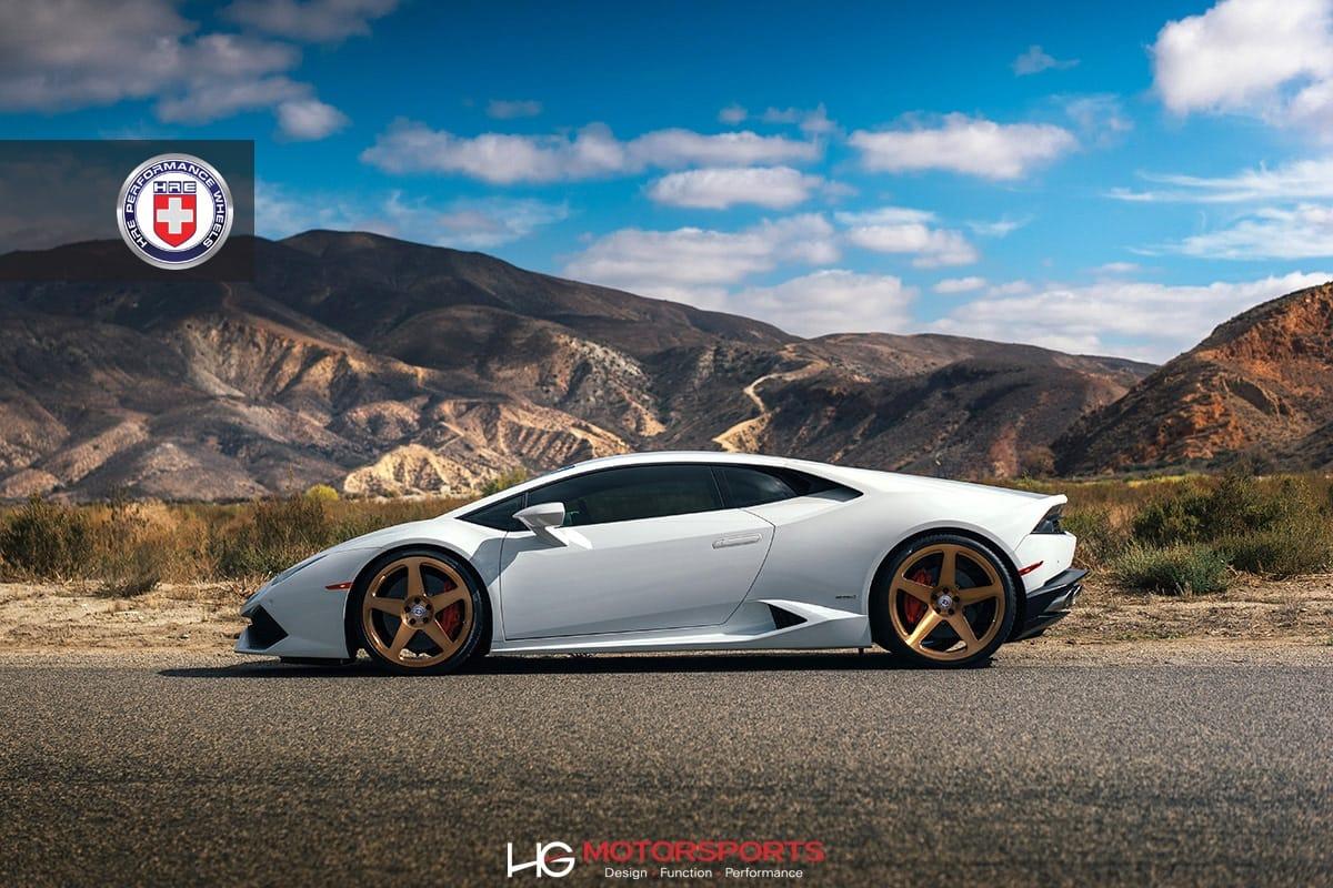 Lamborghini Huracan On Hre 305m Custom Forged Alloy Wheels