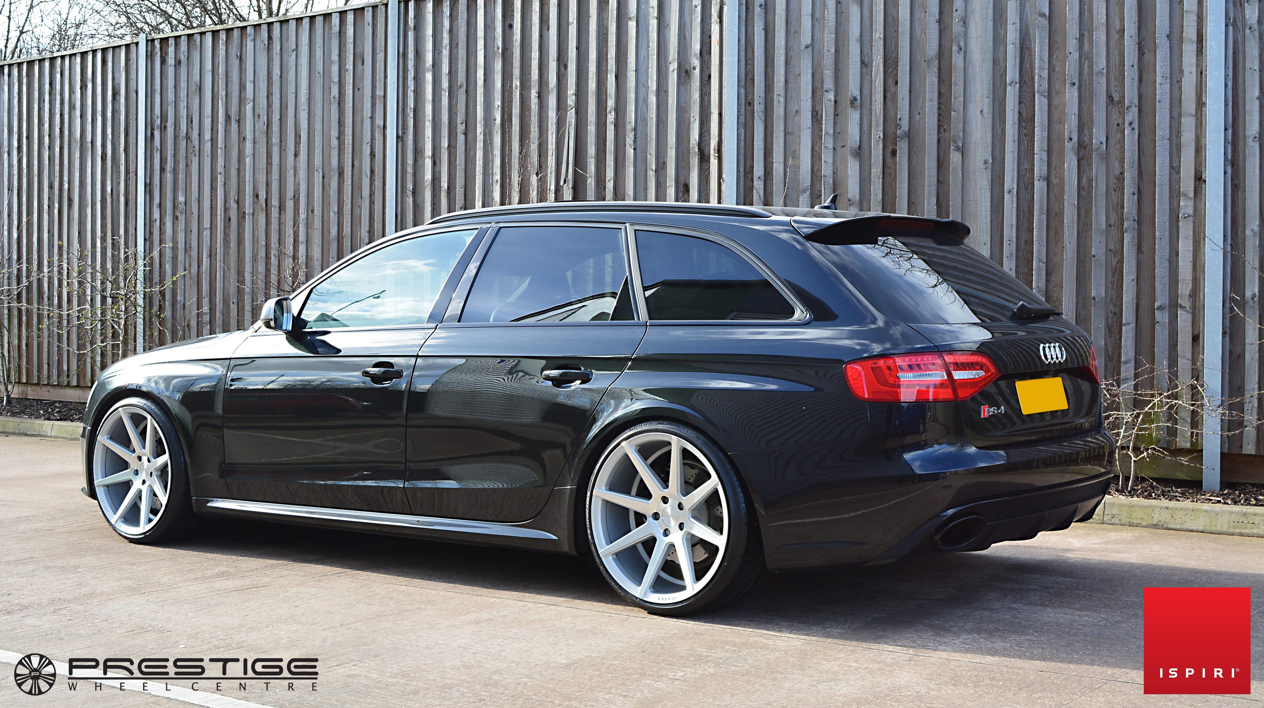 Ispiri Isr8 In Satin Silver Machined Audi Rs4 B8