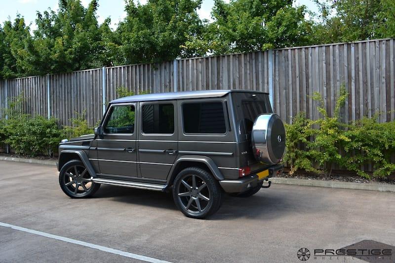 mercedes g wagon on 22 vossen cv7 wheels in graphite prestige wheel centre news. Black Bedroom Furniture Sets. Home Design Ideas