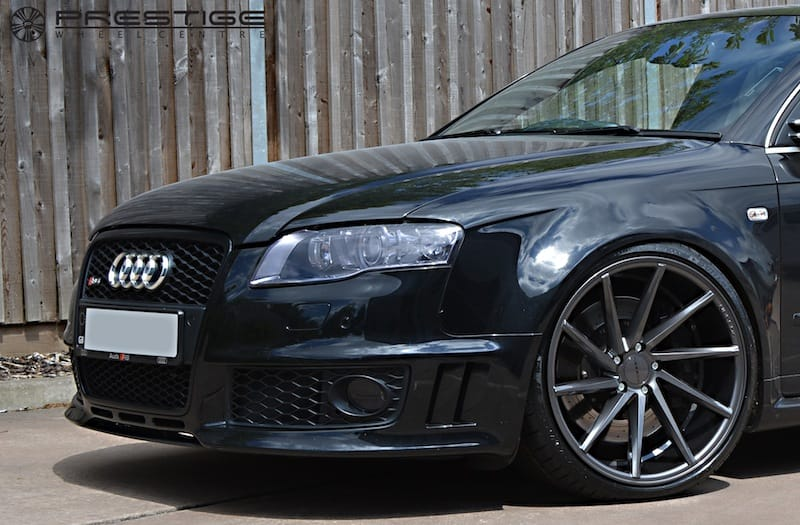 Audi Service Centre >> Audi RS4 B7 in for Vossen CVT wheels in gloss graphite | Prestige Wheel Centre News