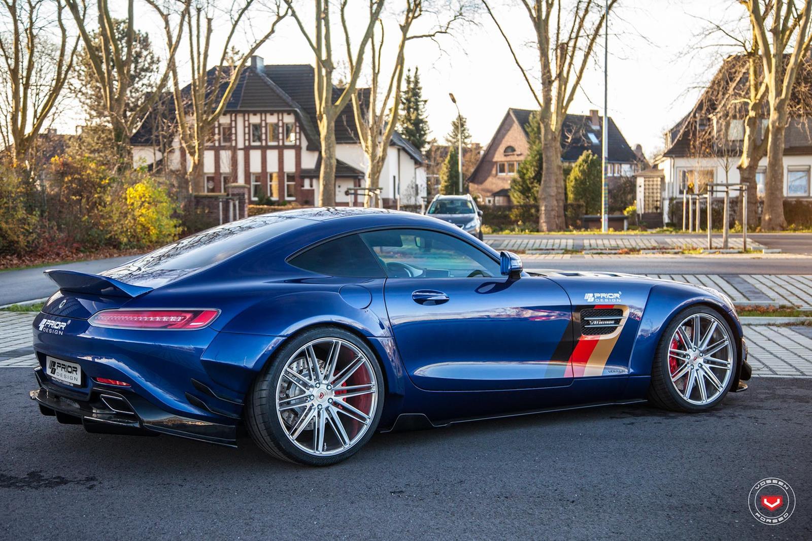 Mercedes Gts Prior Design On Vossen Forged Vps 307 Custom